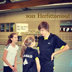 2012 Herfsttornooi!