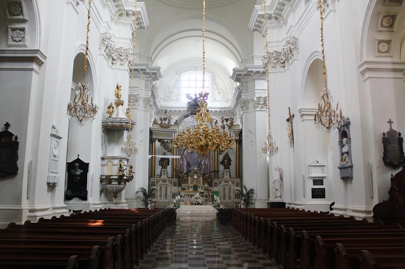 Interior de la Iglesia seminarista