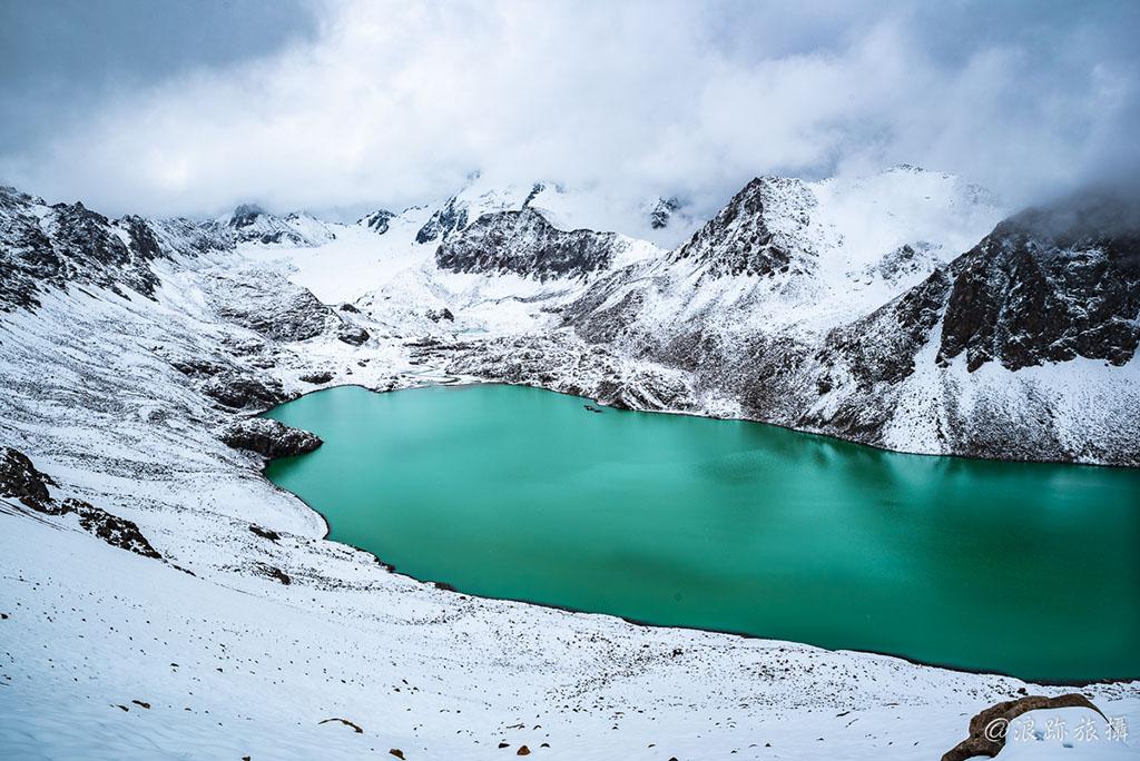 吉爾吉斯 Ala-Kul trekking 健行 登山 高山湖 Ala kol kyrgyzstan