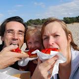 Variant op de jaarlijkse gezinsfoto in de Lommelse Sahara