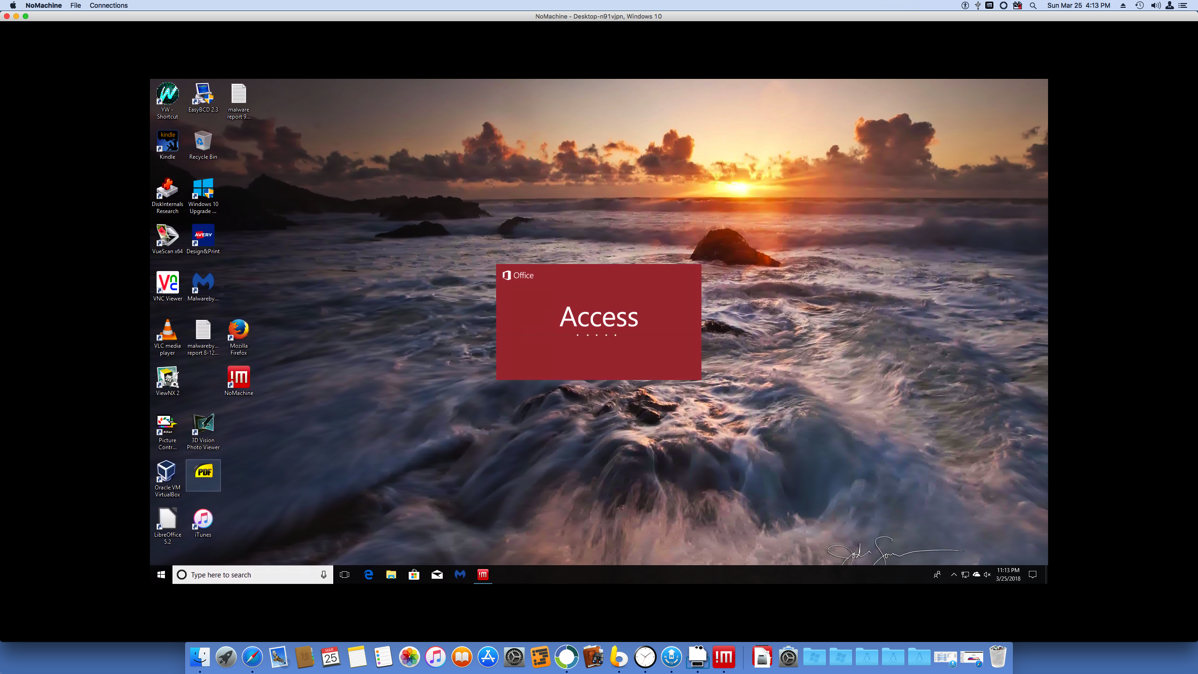 26 Access 2016 on a Mac