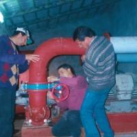 Activação de central de bombagem (Elvas)