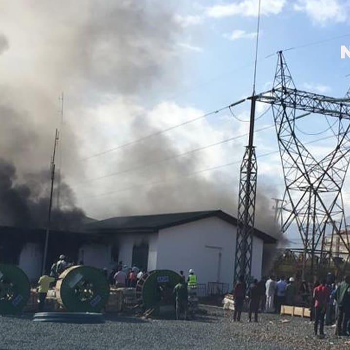 #BreakingNews : Morogoro, Mitambo ya kufua umeme iliyopo maeneo ya Msamvu Morogoro inawaka moto mda huu
