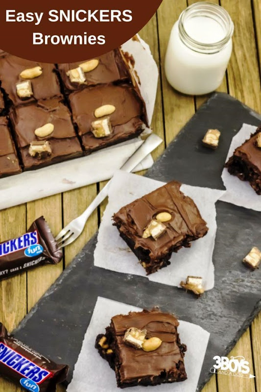 peanut-caramel-chocolate-brownies