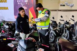 18 Sepeda Motor Terjaring Razia Petugas Gabungan Kompi Siaga KRYD