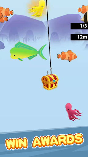 Lucky Fishing - Best Fishing Game To Reward!  captures d'écran 2