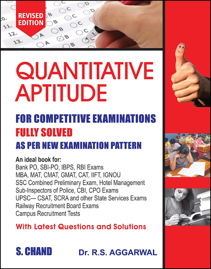Best Maths Book For Competitive Exams - ExamQuizz