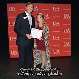 Fall 2017 Foundation Scholarship Ceremony - George%2BW.%2BPeck%2BScholarship.jpg