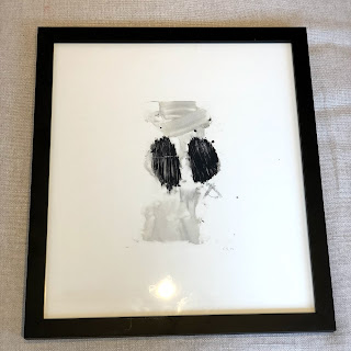 Contemporary Abstract Etching