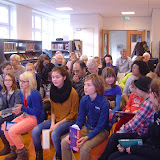 Voorleeswedstrijd - kwartfinale in de bibliotheek in Gorssel
