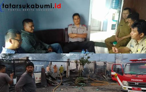 Proses musyawarah pasca kebakaran di Komplek Terminal Cikembang / Foto : Rapik Utama (8/1/2019)