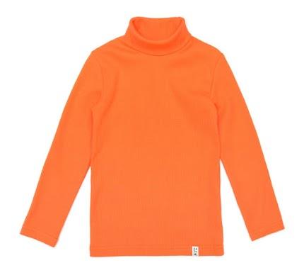 Гольф для дитини оранжевий (рубчик)