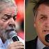 Pesquisa XP/Ipespe: Bolsonaro e Lula estão tecnicamente empatados para 2022