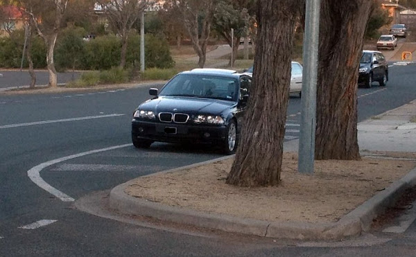 bmw parking