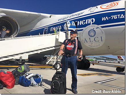Buzz Aldrin Heading to South Pole