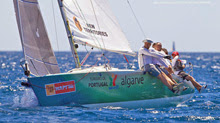 J/80 sailing Copa del Rey in Palma Mallorca, Spain
