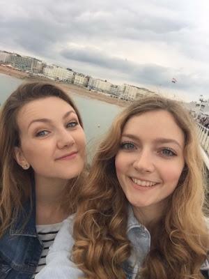 Brighton Pier with Maria