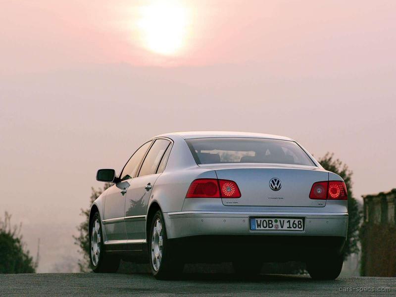 2004 Volkswagen Phaeton Sedan Specifications Pictures Prices