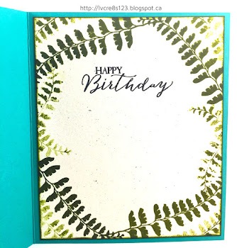 Linda Vich Creates: Botanical Sketch Birthday Card. The flowers and foliage of Tim Holtz's Botanical Sketch stamp are brought to life in this brightly watercolored card.