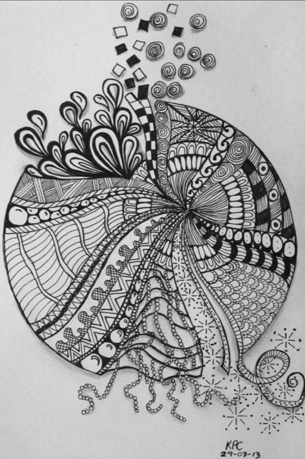 8categories Zendoodle Art