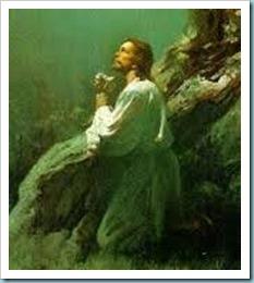 Jesus in Gethsemane 2