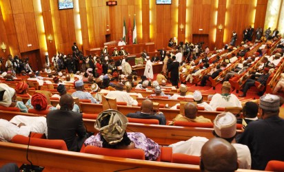 Polls reordering: Senate gets legal advice to override Buhari's veto.Buhari meets National Assembly leaders in Aso Rock