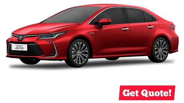 2020 #ToyotaCOROLLA Altis Price starts @ ₱999,000!