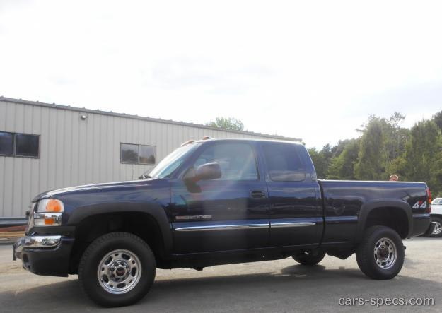 2001 GMC Sierra 2500HD Extended Cab Specifications Pictures Prices