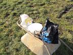Improvizované mytí hrníčků, aneb skauti si vždycky poradí