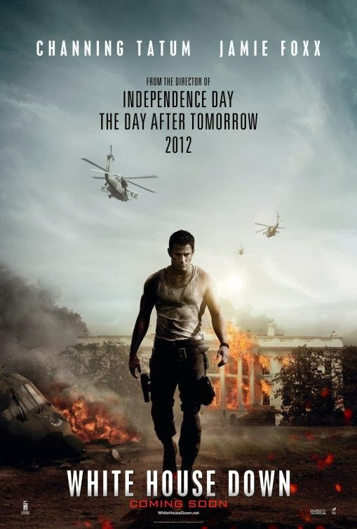 Poster Of English Movie White House Down (2013) Free Download Full New Hollywood Movie Watch Online At Alldownloads4u.Com