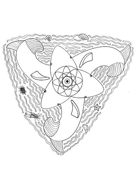Butterfly Mandala Whale Mandala  Coloring Page  Mandala Coloring Pages  Animal  Mandalas