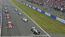Start grid 2004 British F1 GP