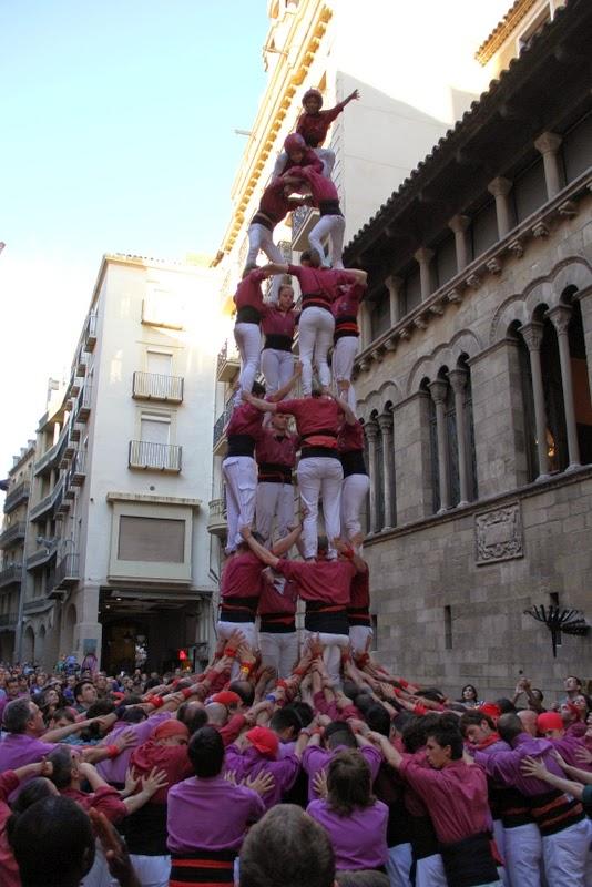 19è Aniversari Castellers de Lleida. Paeria . 5-04-14 - 4 de 7.JPG