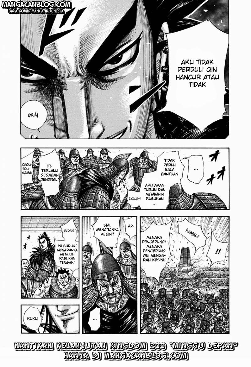 Baca Manga Kingdom Chapter 299 Komik Station