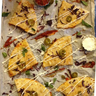 Exotic Vegetable and Cheese Quesadilla Recipe