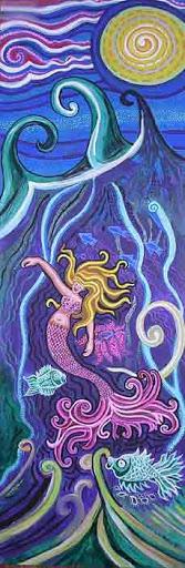 """Mermaid Under the Sea"" by artist Genevieve Esson."
