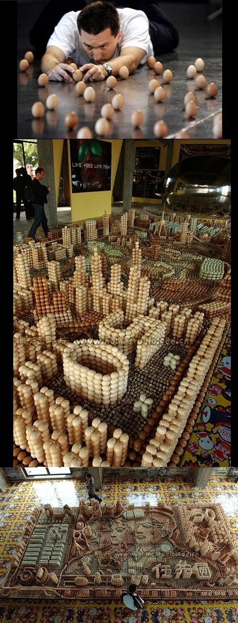 Art : Eggs Sculpture