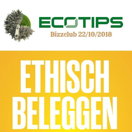 ecoTips BIZZCLUB over ethisch beleggen (is voor iedereen) - 22/10