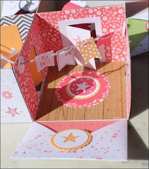 Baby Explosion Box vierfach Kinderzimmer Kinderwagen Garten Girl 04