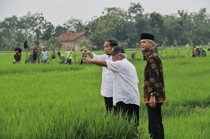 Ganjar Protes Pemerintah Impor Beras Saat Petani Akan Panen