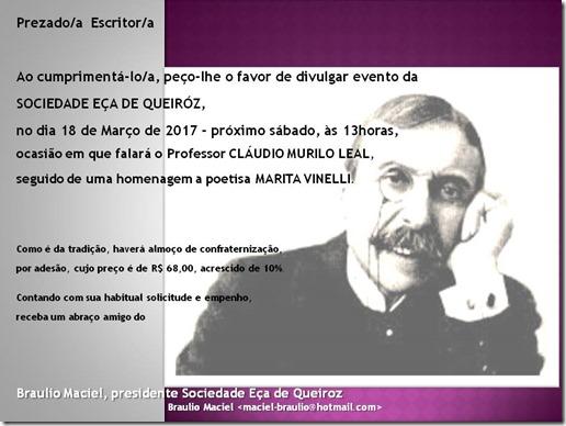 convite EÇA MARÇO 2017