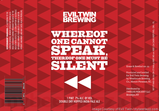 Evil Twin - Whereof One Cannot Speak, Thereof One Must Be Silent