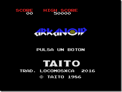 Arkanoid (spanish translation by locomosxca).rom 0002