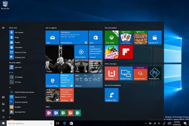 Windows 10 Newly Released Build Comes With An Improved Gaming Features And Others