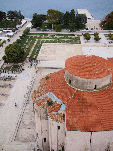 View from the bell tower of St. Donatus