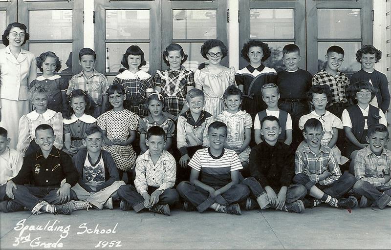 Spaulding third grade