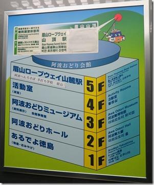 德島阿波舞 眉山纜車 (5)