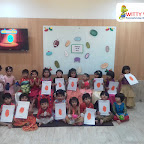 Introduction to Oval Shape by Nursery Section at Witty World Bangur Nagar (2018-2019)