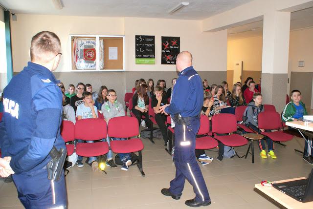Spotkanie z policjantami - DSC00037.JPG