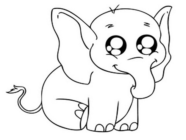 Baby Elephant Coloring Pages Elephant Coloring Pages Bestofcoloring
